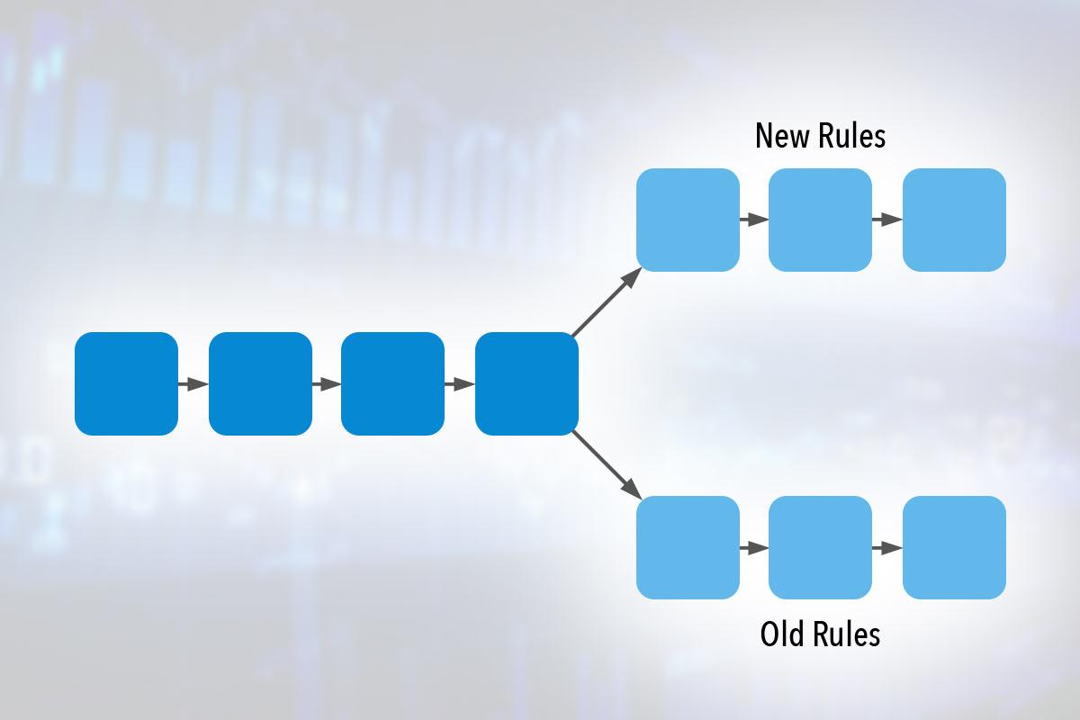 区块链分叉是如何进行的?